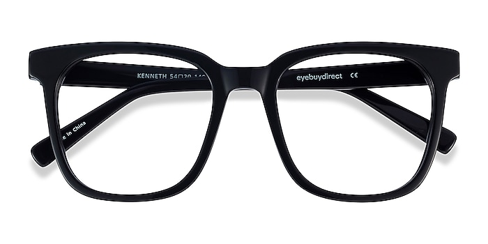 Black Kenneth -  Vintage Acetate Eyeglasses