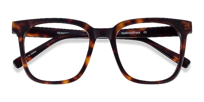Tortoise Kenneth -  Vintage Acetate Eyeglasses