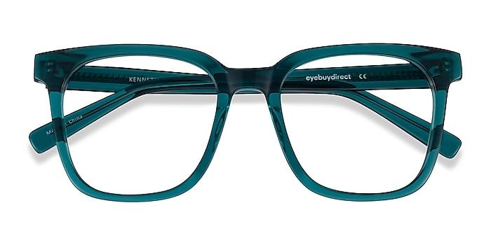 Teal Kenneth -  Vintage Acetate Eyeglasses