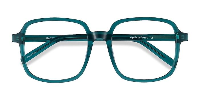 Teal Gaston -  Vintage Acetate Eyeglasses