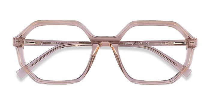 Clear Brown Dream -  Acetate Eyeglasses