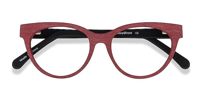 Berry Red Paula -  Vintage Acetate Eyeglasses