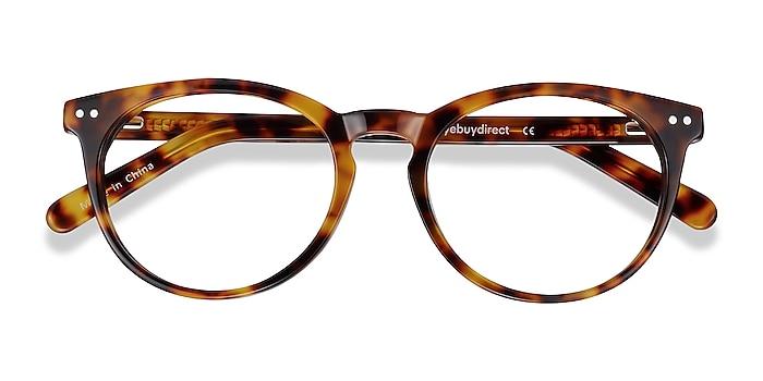 Warm Tortoise Morning -  Classic Acetate Eyeglasses