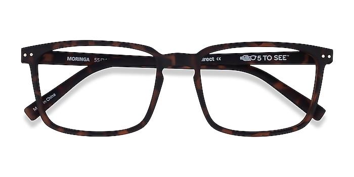 Warm Tortoise Moringa -  Plastic Eyeglasses