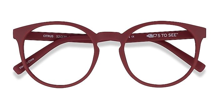 Crimson Citrus -  Plastique Lunettes de vue