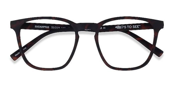 Warm Tortoise Eucalyptus -  Plastic Eyeglasses