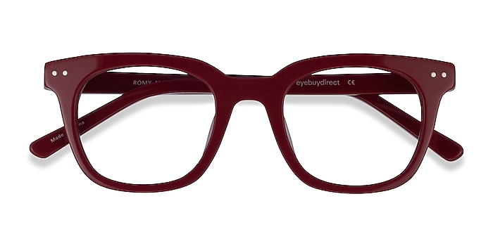 Burgundy Romy -  Geek Acétate Lunettes de vue