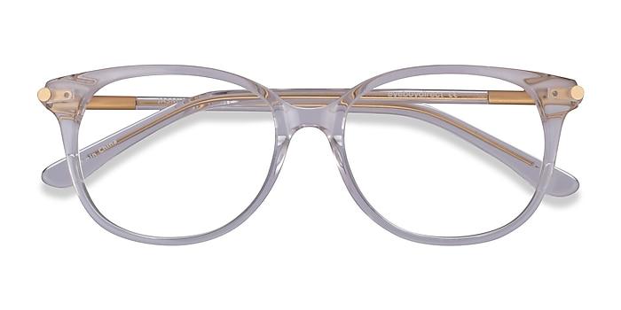 Clear Jasmine -  Metal Eyeglasses