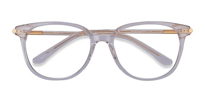 Clear Jasmine -  Acetate Eyeglasses