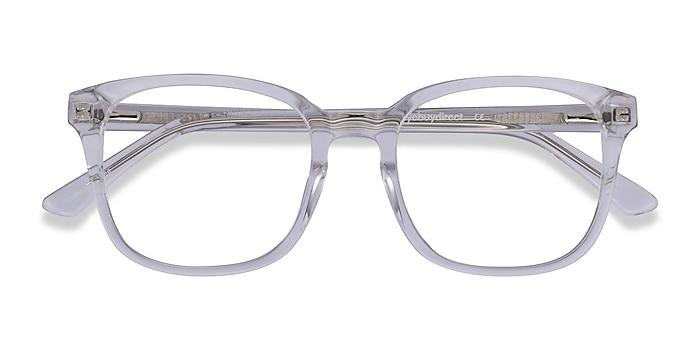 Clear Tower -  Geek Acetate Eyeglasses