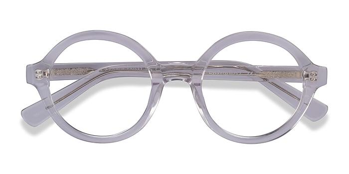 Clear Groove -  Acetate Eyeglasses