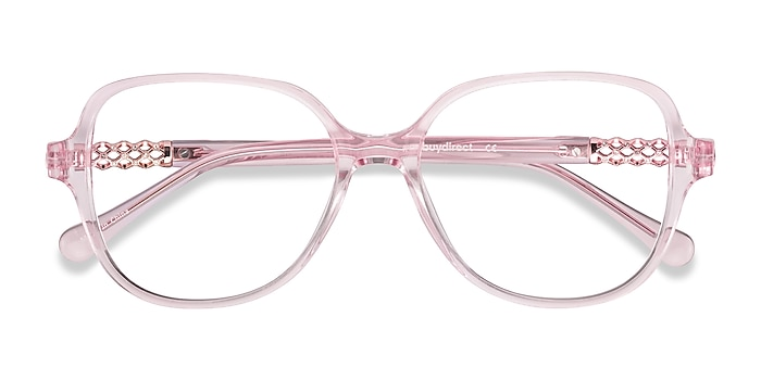 Clear Pink Precious -  Colorful Acetate Eyeglasses
