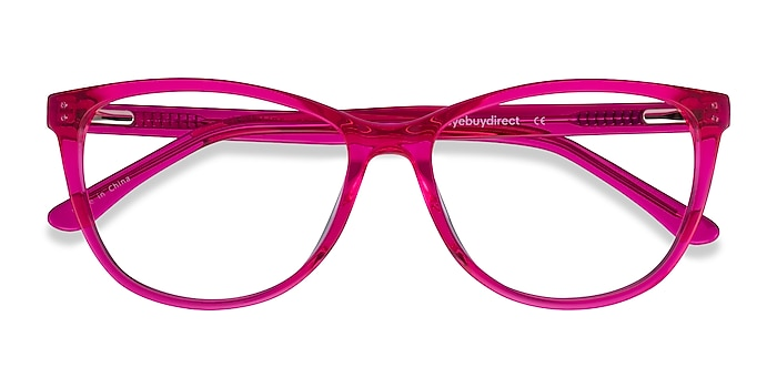 Pink Solitaire -  Colorful Acetate Eyeglasses