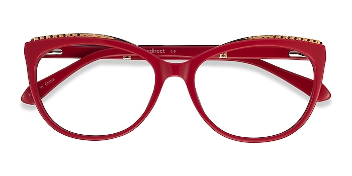 Red Brilliance -  Colorful Acetate Eyeglasses