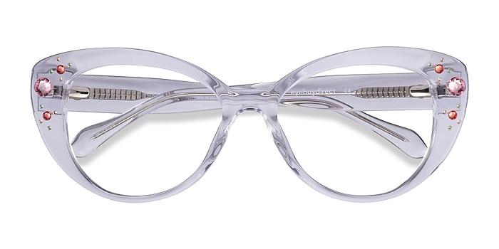 Clear Diamond -  Acetate Eyeglasses