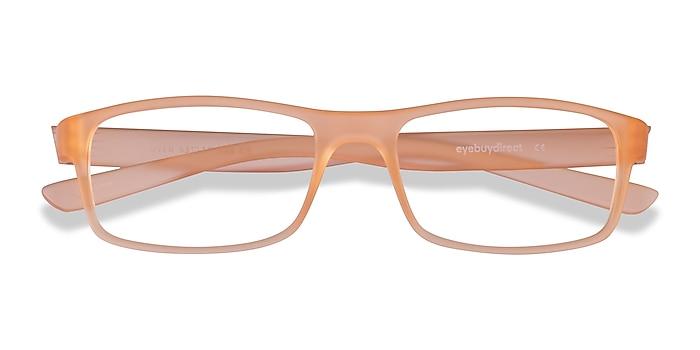 Light Orange Over -  Plastique Lunettes de vue