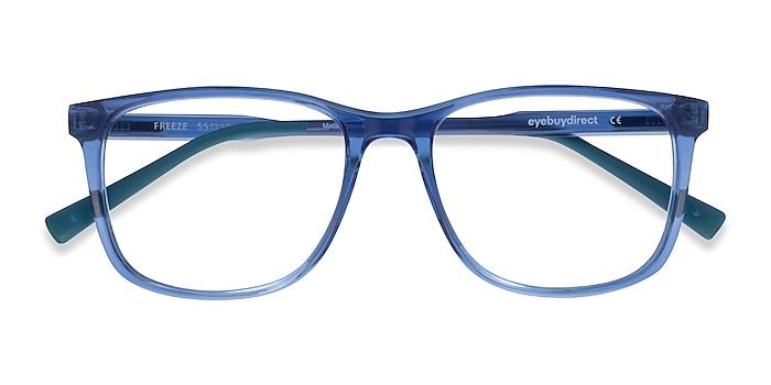 Clear Blue Freeze -  Plastique Lunettes de vue