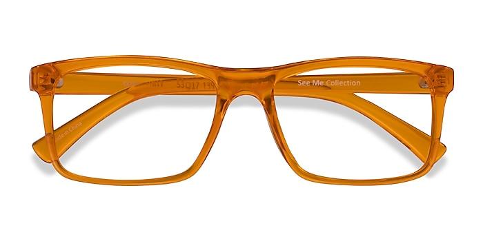 Clear Orange Community -  Coloré Plastique Lunettes de vue