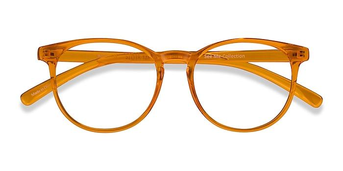 Clear Orange Rainbow -  Coloré Plastique Lunettes de vue