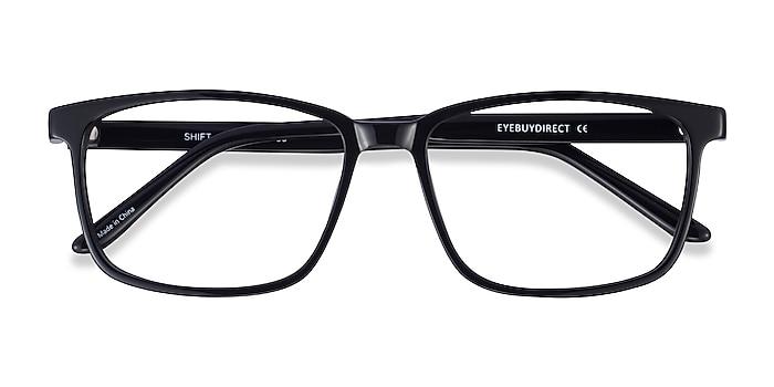 Black Shift -  Acetate Eyeglasses