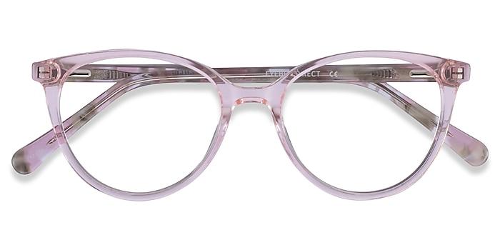 Clear Pink Floral Friend -  Acétate Lunettes de vue