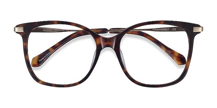 Tortoise  Gold Celestial -  Acetate Eyeglasses
