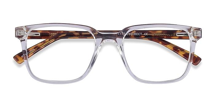 Clear Tortoise Boat -  Plastic Eyeglasses