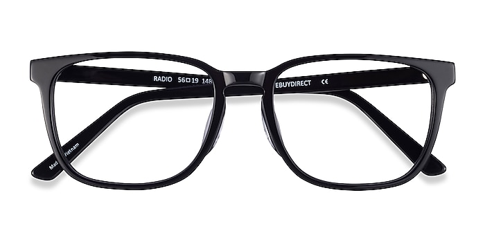 Black Radio -  Acetate Eyeglasses