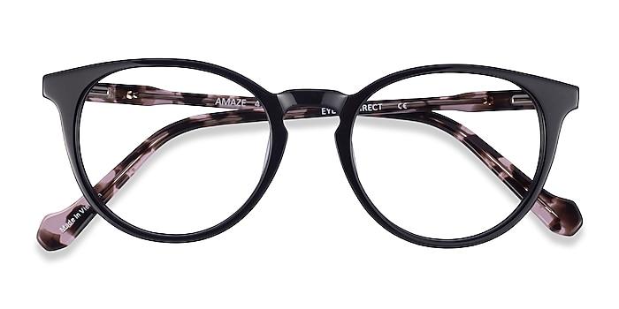 Black Tortoise Amaze -  Acetate Eyeglasses