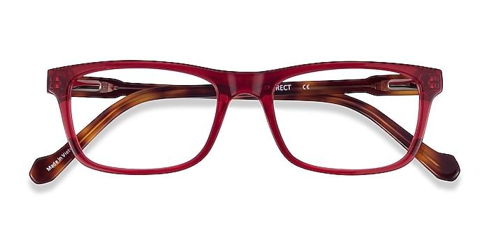 Red Tortoise Scuba -  Acetate Eyeglasses