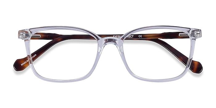 Clear Tortoise Travel -  Acetate Eyeglasses