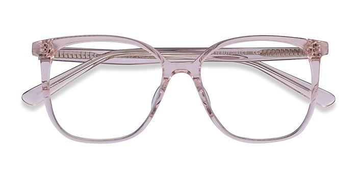 Clear Beige Latte -  Acetate Eyeglasses