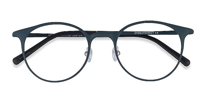 Matte Green Solace -  Plastic Eyeglasses