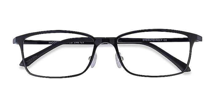 Noir Modest -  Plastique Lunettes de vue