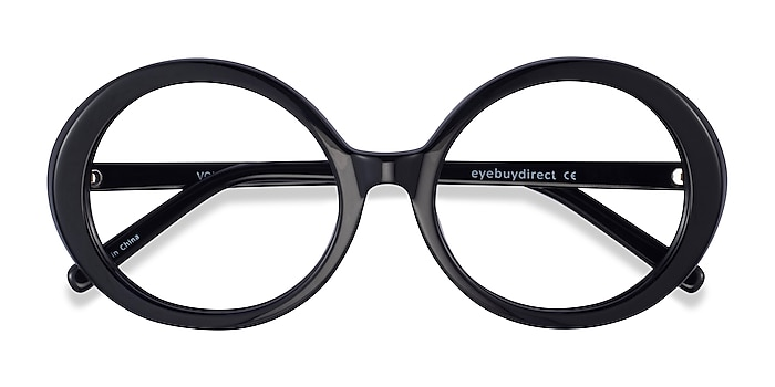 Black Voila -  Acetate Eyeglasses