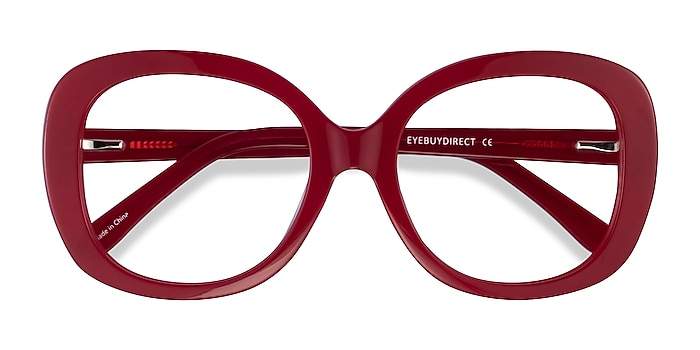 Burgundy Tess -  Acetate Eyeglasses