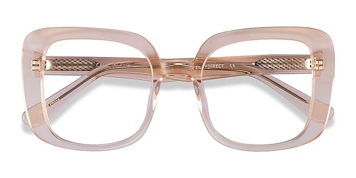 Clear Yellow Calista -  Acetate Eyeglasses