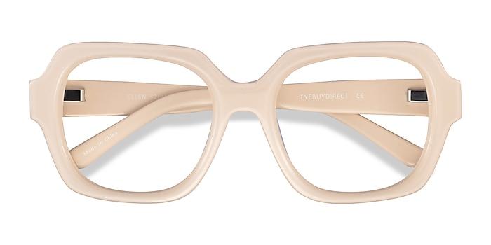 Cream Ellen -  Acetate Eyeglasses