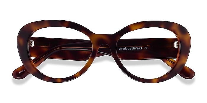 Tortoise Dahlia -  Acetate Eyeglasses