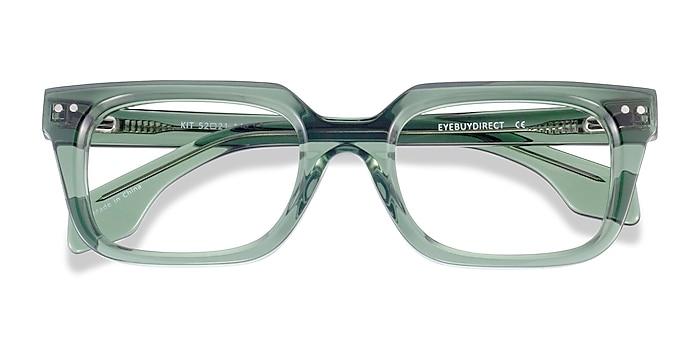 Clear Green Kit -  Acetate Eyeglasses