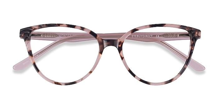 Ivory Tortoise Pink Wonder -  Colorful Acetate Eyeglasses