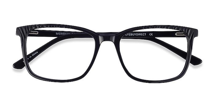 Black Meridian -  Acetate Eyeglasses