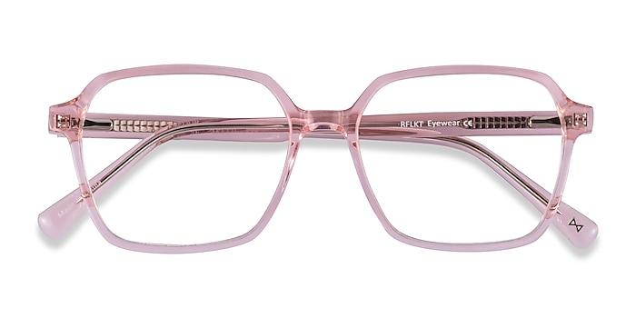 Clear Pink Bucolic -  Tendance Acétate Lunettes de vue