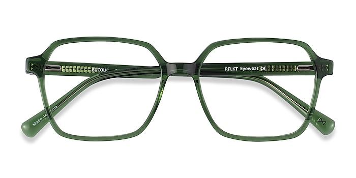 Clear Green Bucolic -  Fashion Acetate Eyeglasses