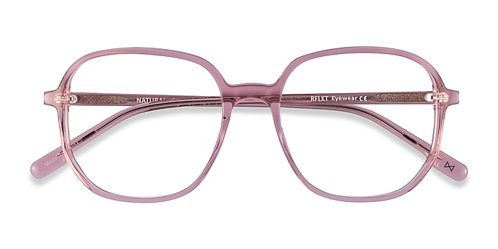 Clear Pink Natural -  Fashion Acetate Eyeglasses