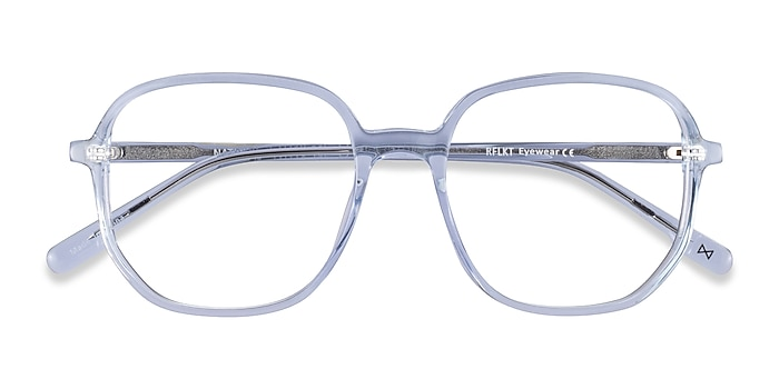 Clear Blue Natural -  Fashion Acetate Eyeglasses