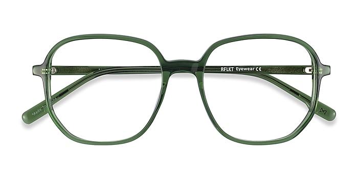 Clear Green Natural -  Fashion Acetate Eyeglasses