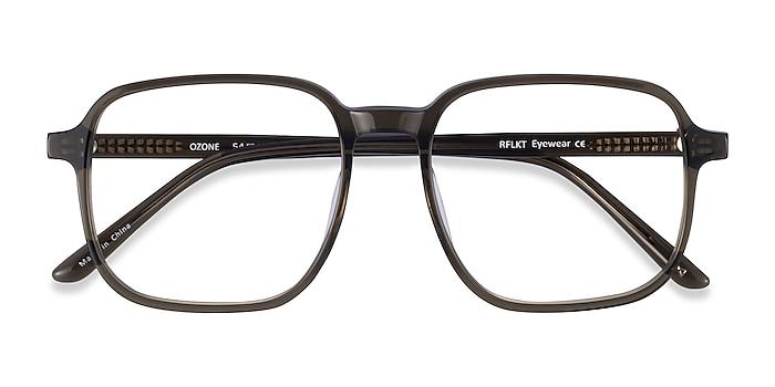 Clear Dark Green Ozone -  Fashion Acetate Eyeglasses