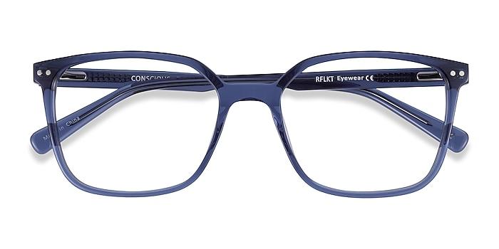 Clear Blue Conscious -  Classic Acetate Eyeglasses