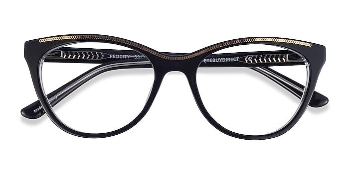 Black Gold Felicity -  Acetate Eyeglasses